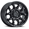 TSW Ark Alloy Wheels  Matte Black with Gloss Black Bolts