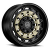 "TSW Arsenal Alloy Wheels Sand on Black (9.5"")"