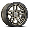 TSW Barstow Alloy Wheels Matte Bronze with Matte Black Lip Ring