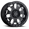 TSW Block Alloy Wheels Matte Black with Milled Spokes