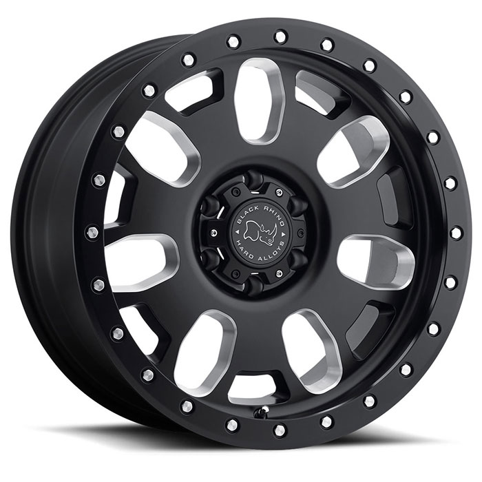 Block Truck Rims by Black Rhino