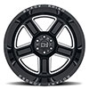 "Canon Gloss Black w/ Milled Spokes (11.5"")"