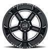 "Canon Gloss Black w/ Milled Spokes (14"")"