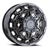 TSW Destroyer Alloy Wheels Matte Gunmetal (Front)