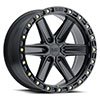 TSW Henderson Alloy Wheels Matte Black with Brass Bolts