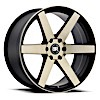 TSW Karoo Alloy Wheels Matte Black w/machine face & dark matte tint clear