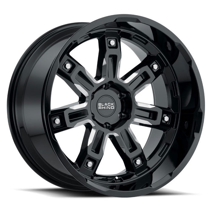 Locker Truck Rims by Black Rhino