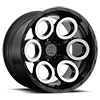 TSW Magnus Alloy Wheels Matte black w/matte machine face & milled window
