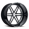 TSW Marauder Forged Alloy Wheels Gloss Black w/ Milled Spokes