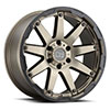 "TSW Oceano Alloy Wheels Matte Bronze w/Black Lip Edge (9.5"")"