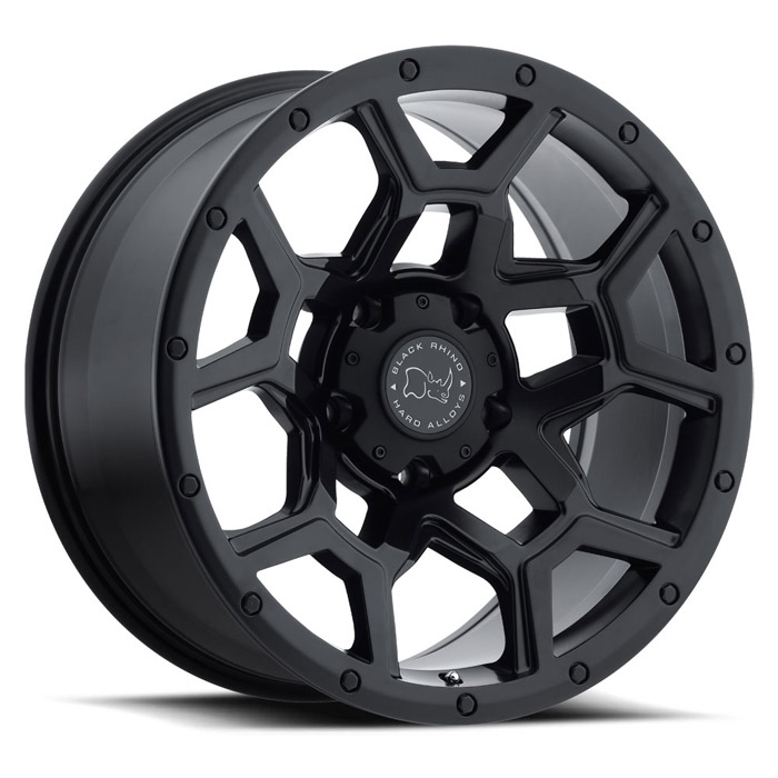 Overland Truck Rims by Black Rhino
