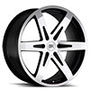 TSW Peak Alloy Wheels Gloss Black Machine Cut Face