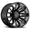 "Pinatubo Gloss Black w/Milled Inside Window (12"")"