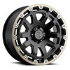 "TSW Razorback Alloy Wheels Matte Black with Machine Dark Tint Lip (9"")"