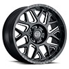 "TSW Reaper Alloy Wheels Gloss Black w/ Milled Spokes (9.5"")"