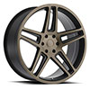 TSW Safari Alloy Wheels Matte Black w/ Machine Face & Dark Tint