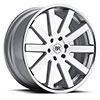 TSW Savannah Alloy Wheels Silver with Machine Face
