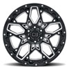 Shrapnel Gloss Black w/ Milled Spokes