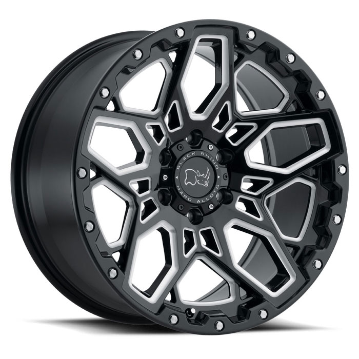 Black Rhino wheels and rims |Shrapnel