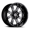 "TSW Sierra Alloy Wheels Gloss black with Milled Spokes (11.5"")"