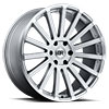 TSW Spear Alloy Wheels Silver with Mirror Cut Lip Edge