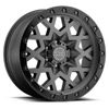 Sprocket Matte Gunmetal w/Black Lip Edge