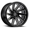 "Thrust Gloss Black w/Milled Spokes (12"")"