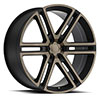 TSW Timbavati Alloy Wheels Matte Black w/Machine Face & Dark Matte Tint