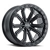 Trabuco Matte Black with Black Bolts
