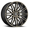 TSW Zulu Alloy Wheels Matte Black with Machine Face & Dark Matte Tint
