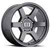TSW MK6 Alloy Wheels Gunmetal
