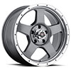 TSW Punch Alloy Wheels Anthracite Grey with Machined Lip