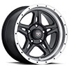 TSW Strike 5 Alloy Wheels Matte Black with Machined Lip