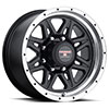 TSW Strike 8 Alloy Wheels Matte Black with Machined Lip
