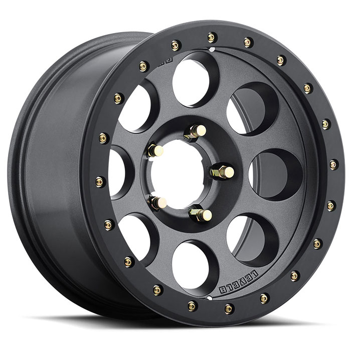 Tracker Pro Off Road Rims by Level 8