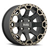 TSW Warlord UTV Alloy Wheels Matte Black with Machined Dark Tint Lip