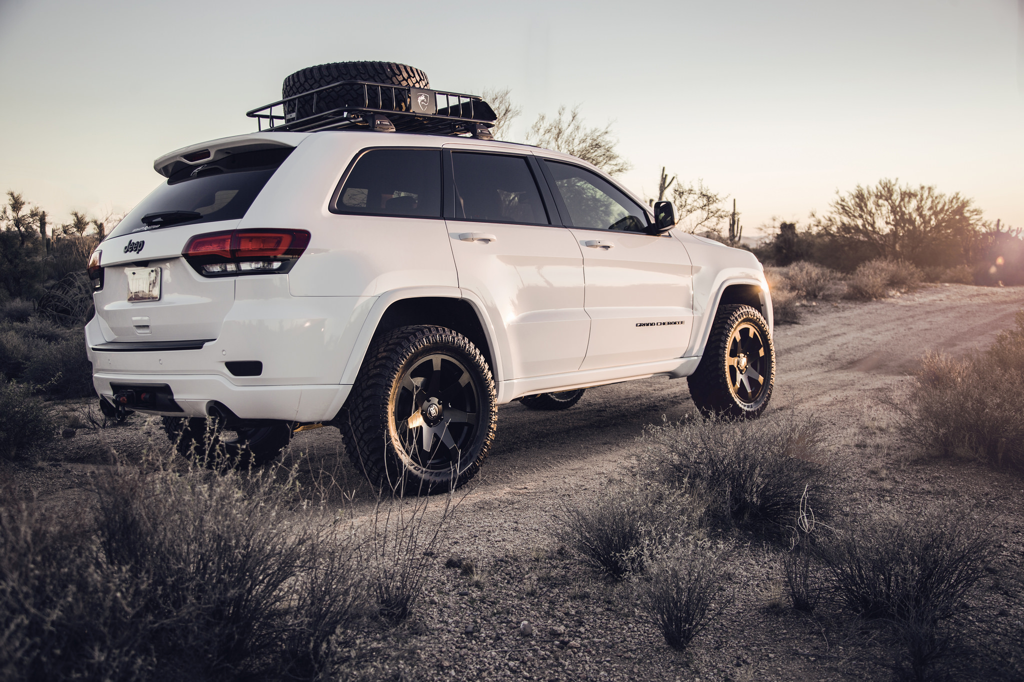 Lifted Black Jeep Grand Cherokee >> Mozambique Truck Rims by Black Rhino