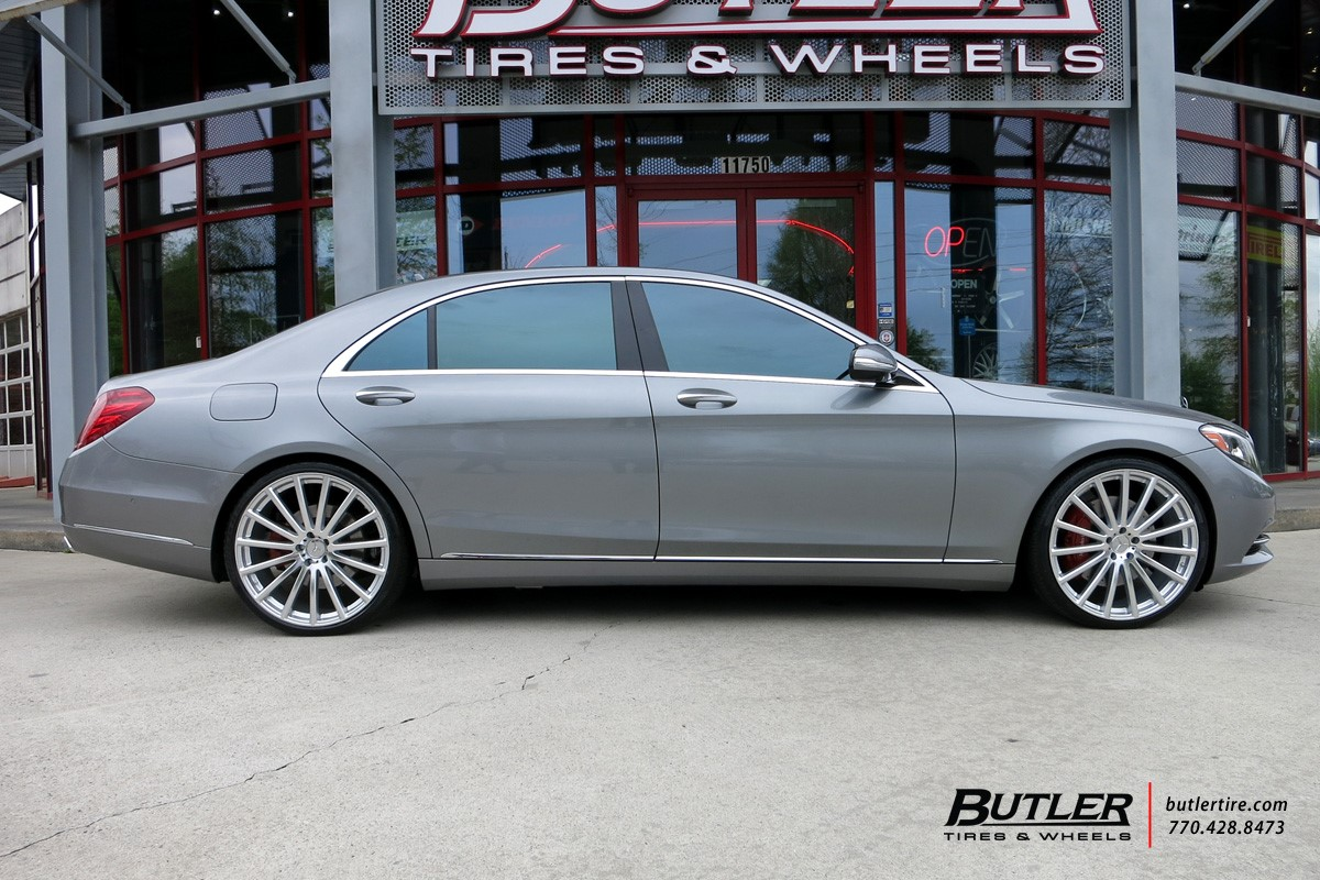 Mercedes wheels and rims by mandrus showroom for Mercedes benz s class rims